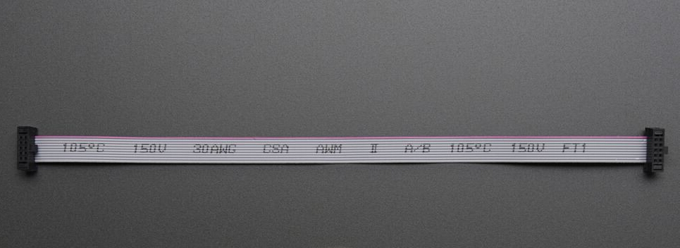 10pcs 15cm 10 Pin 1 27mm Pitch Idc Socket Extension Flat