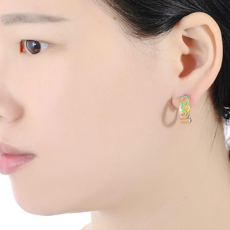 E303903ENM4SR925-002-Silver Earrings