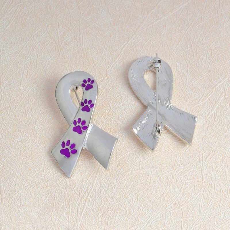 Шарф в форме Pin Собака Лапы кошка брошь котенок Значки для эмали Pin значки Джинсовый Рюкзак подарок ювелирные изделия для друга детей