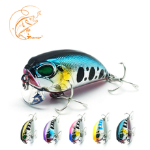 Купить с кэшбэком Thritop Professional Hard Baits Crankbait Lures TP060 4.5cm 8g 5 Various Colors Artificial Lure Wobblers Fishing Tackle