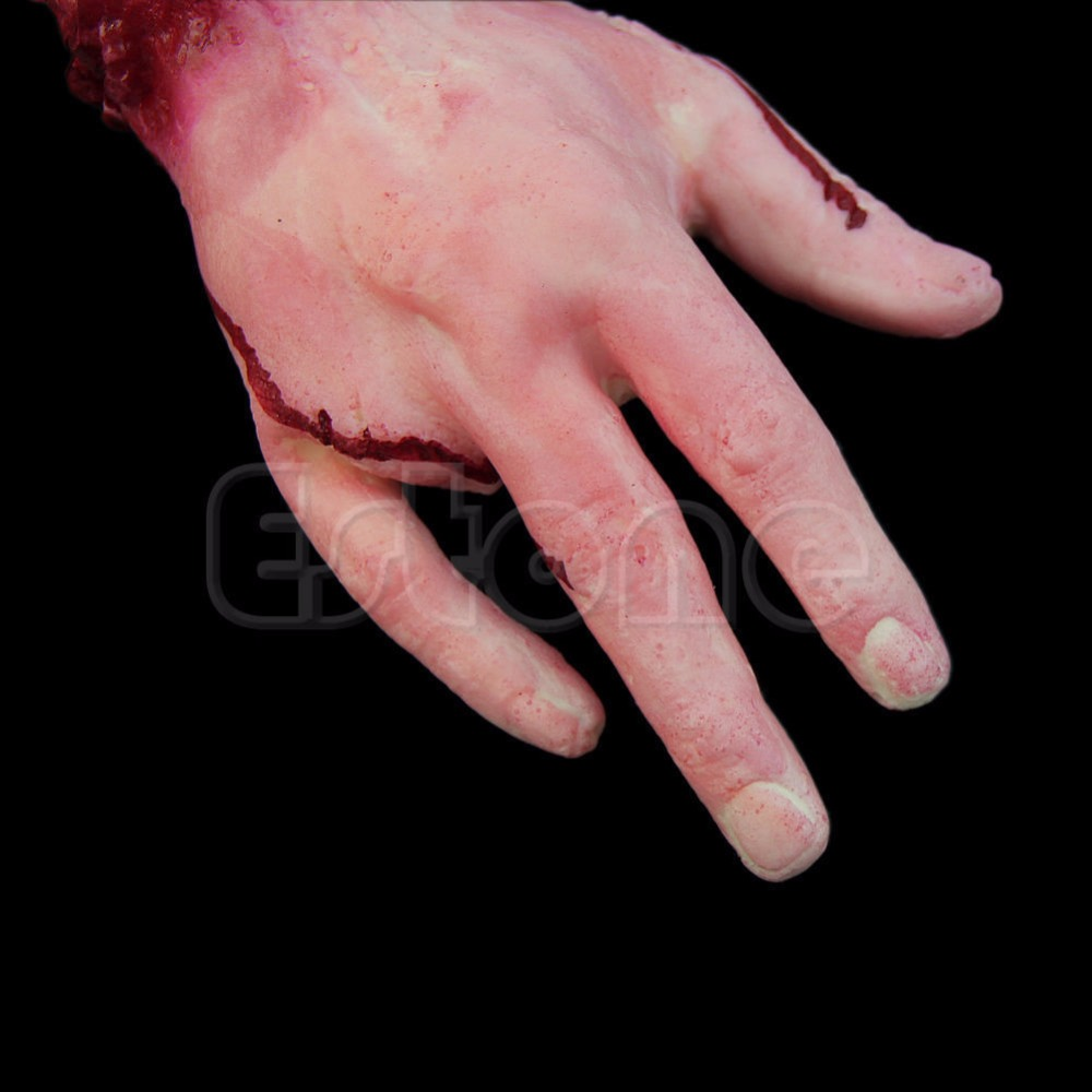 Halloween Horror Props Bloody Hand Haunted House Party