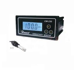 CM-230 przemysłowy Tester przewodności Online Monitor automatyczny zakres i zerowanie Y