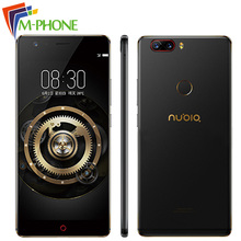 New 2017 Original Nubia Z17 Snapdragon 835 Octa Core 6GB RAM 64GB 5.5 inch 23MP Rear Camera Android 7.1 Waterproof Mobile Phone