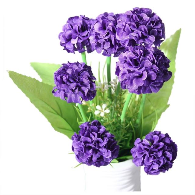 9 heads 1 bouquet artificial chrysanthemum silk flowers floral home 9 heads 1 bouquet artificial chrysanthemum silk flowers floral home garden decor colordark purple mightylinksfo