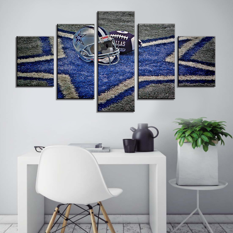 Contemporary Wall Art Dallas Cowboys Home Decor NFL Prints