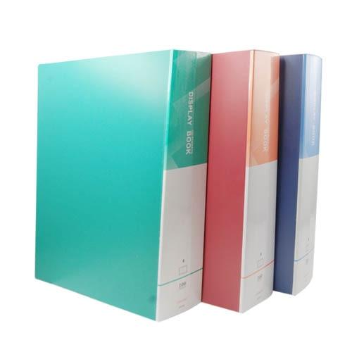 BLEL Hot A4 Display Book Documents Storage Portfolio Folder Document Folder File Folder 100 Pockets School Stationary Tool