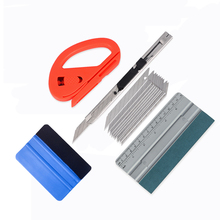 EHDIS Window Tints Tools Kit Vinyl Film Car Wrap Squeegee Scraper Vehicle Wrapping Cutter Knife Auto Sticker Accessories Set