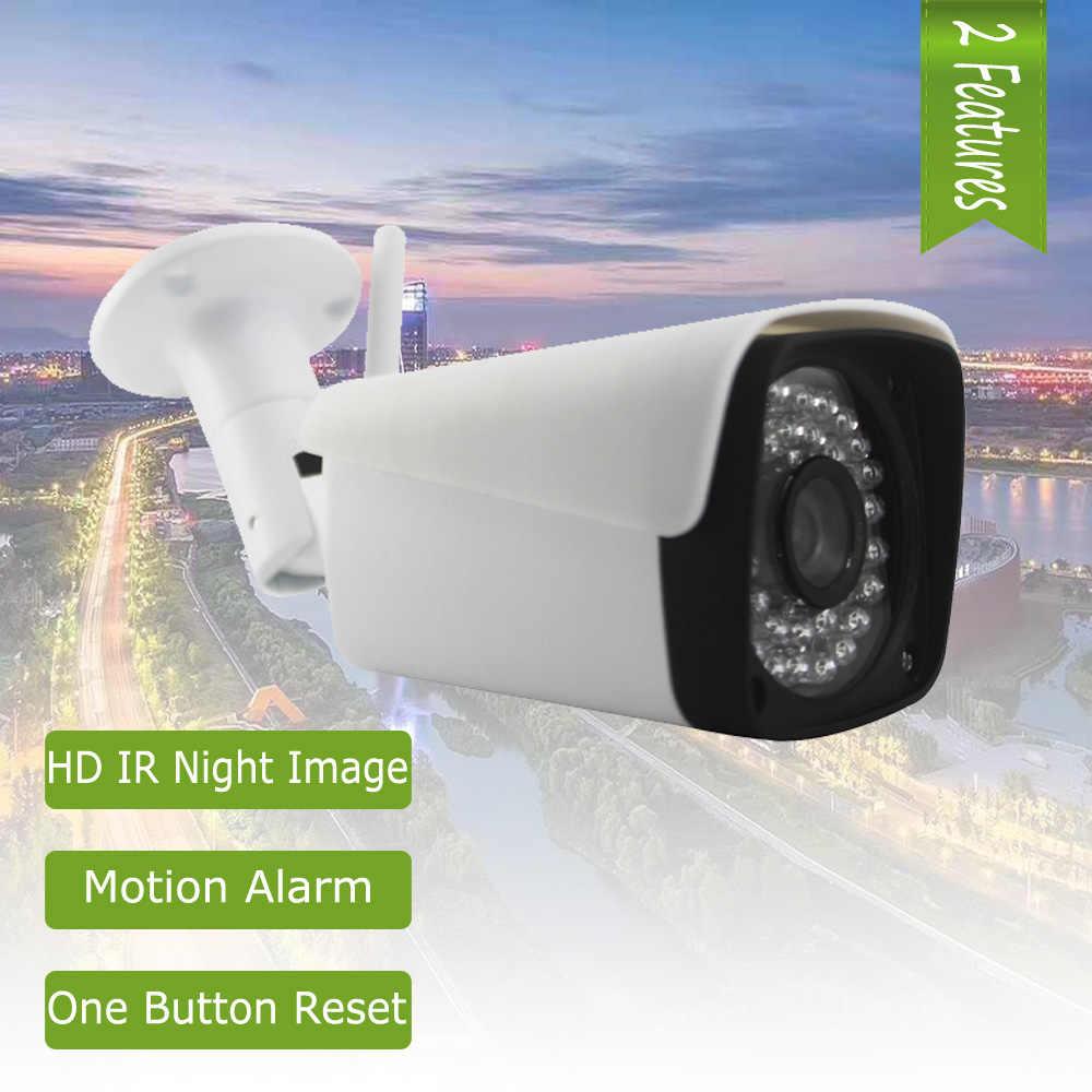 Small Metal Water proof Wireless IP Camera IR 128G SD Card Outdoor Reset XM WIFI IPC 1080P Security Camera P2P Motion Alarm