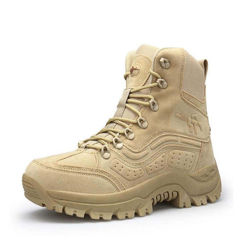 2018 Tactical Boots Lightweight Outdoor Shoes Military Waterproof Breathable Wearable Boots Hiking Desert Combat Boots combat boots desert tan lug sole military boots page 4