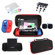купить High quality Waterproof carrying case bag for Nintend Switch Game console Host Accessories Portable Travel Storage Bag suit по цене 906.13 рублей