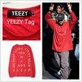 2017 Новая Одежда Прибытие Мужчины Прибыль Одежда Kanye West Yeezy Жизнь Yeezy Я чувствую, как Пабло Сезон 3 Хип-Хоп Т рубашка Размер M-2XL