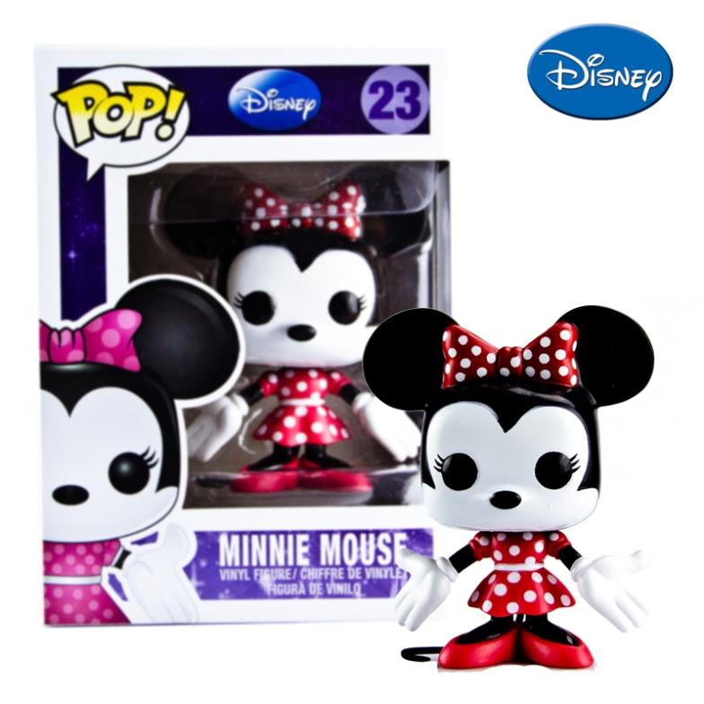 Genuine Funko Pop Minnie Mouse Vinyl Dolls Pop Funko Vinyl