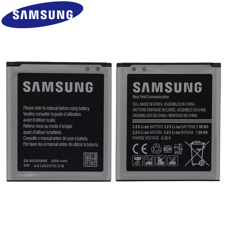 SAMSUNG EB-BG355BBE For Samsung GALAXY Core 2 G355H SM-G3556D G355 G3559 G3558 G3556D 2000mAh  Replacement Phone BatterySAMSUNG EB-BG355BBE For Samsung GALAXY Core 2 G355H SM-G3556D G355 G3559 G3558 G3556D 2000mAh  Replacement Phone Battery