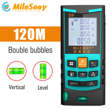 Mileseey Laser Rangefinder Digital Laser Distance Meter laser range finder tape distance measurer tool цены