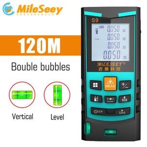 Image 1 - Mileseey Laser Telemetro Laser Digitale Tester di Distanza laser range finder distanza misuratore strumento