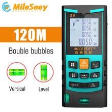 Mileseey télémètre Laser numérique télémètre Laser télémètre laser ruban mesureur de Distance outil