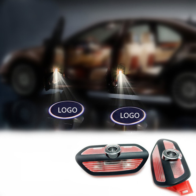 Luz de Cortesía INSIGNIA del coche Personalizado Especificado Car Door bienvenido Suelo Para Mercedes-benz Nuevo S W222 S300 S320 S500 S600 S400