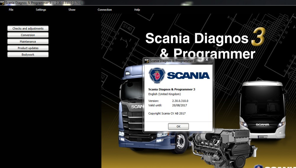 Prix pour ForScania SDP3 2.30 Diagnos & Programmeur + activation sans dongle