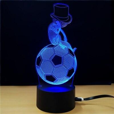 3D LED Lamp ...