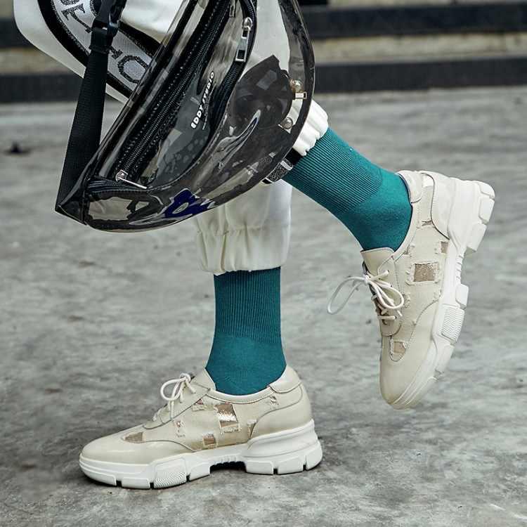 Zorssar Marke 2019 damen schuhe plattform schuhe turnschuhe frauen herbst schuhe für frauen wohnungen lace up atmungsaktive sport casual