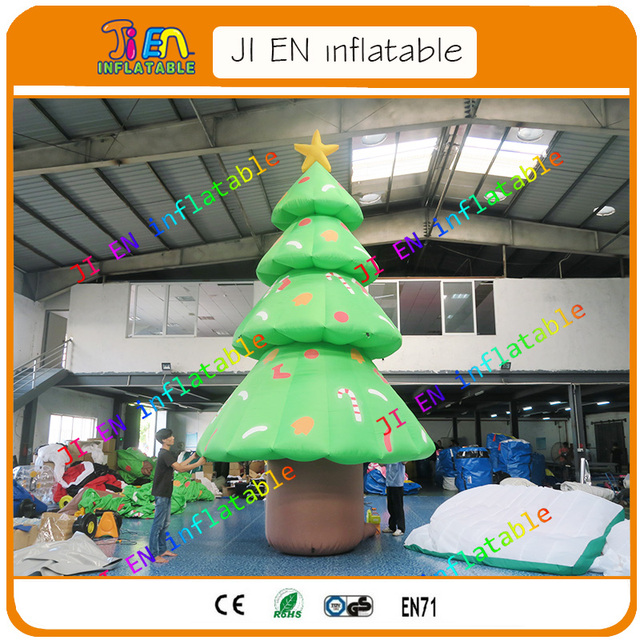 free door to door shipping inflatable christmas tree for indoor or outdoor decoration cheap inflatable