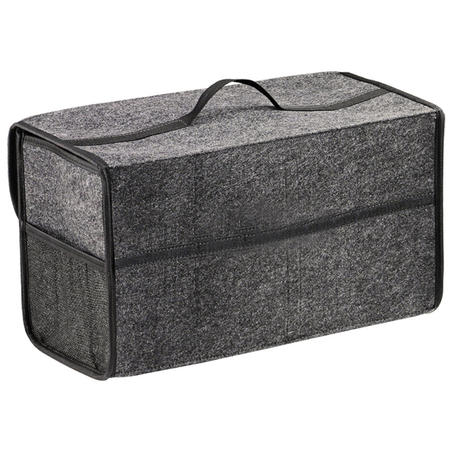 Новый автомобильный органайзер, коробка для хранения, дорожная сумка, ковер из полиэстера, складные автомобильные аксессуары для интерьера