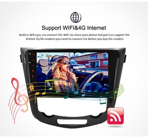Image 5 - IPS Screen Android 9.0 Car DVD Player for Nissan X Trail Qashqail 2014 2017 GPS Navigation Radio Video FM Stereo Multimedia