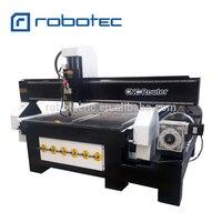 Robotec 1325 ЧПУ с поворотным столом diy ЧПУ комплект 4 оси с сертификатом CE