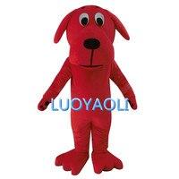 Big Red Dog Clifford Maskotki Kostiumy Dla Dorosłych