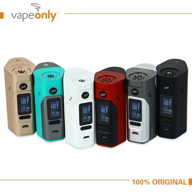 Electronic Cigarette Wismec Reuleaux RX2/3 Box Mod Updated RX23 150W/200W TC Box Mod NO Battery 100% Original VS RX200S