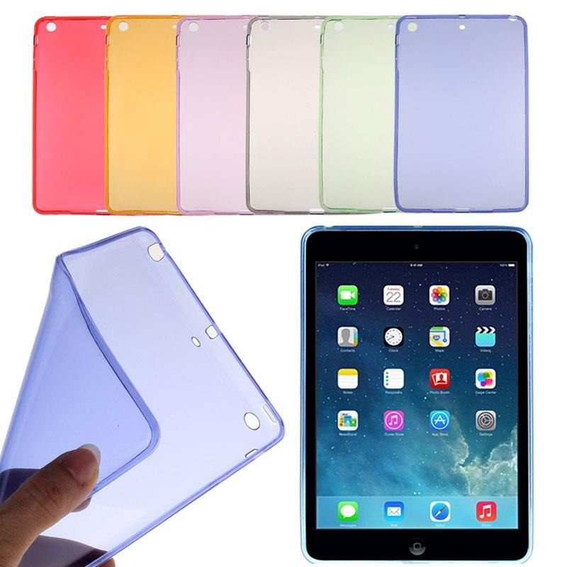 Soft Gel Tpu Skin Silicone Case Cover For Ipad Mini 1 2 3 Retina Red*95