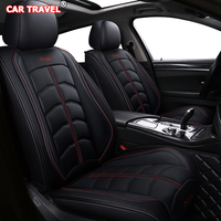 Front Rear Luxury Leather car seat cover For suzuki celerio citroen c4 grand picasso c3 c5 lexus gs300 suzuki swift accessories