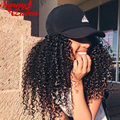 """250% Kinky Curly Lace Front Human Hair Wigs 8A Full Lace Human Hair Wigs For Black Women 12-24"""" Brazilian Curly Front Lace Wig"""