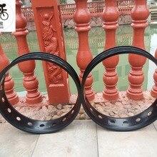 Kalosse пляжные велосипеды диски толстые велосипедные колеса DIY цвета 100 мм ширина 36 отверстий зимние велосипеды 20X4,0 шины диски
