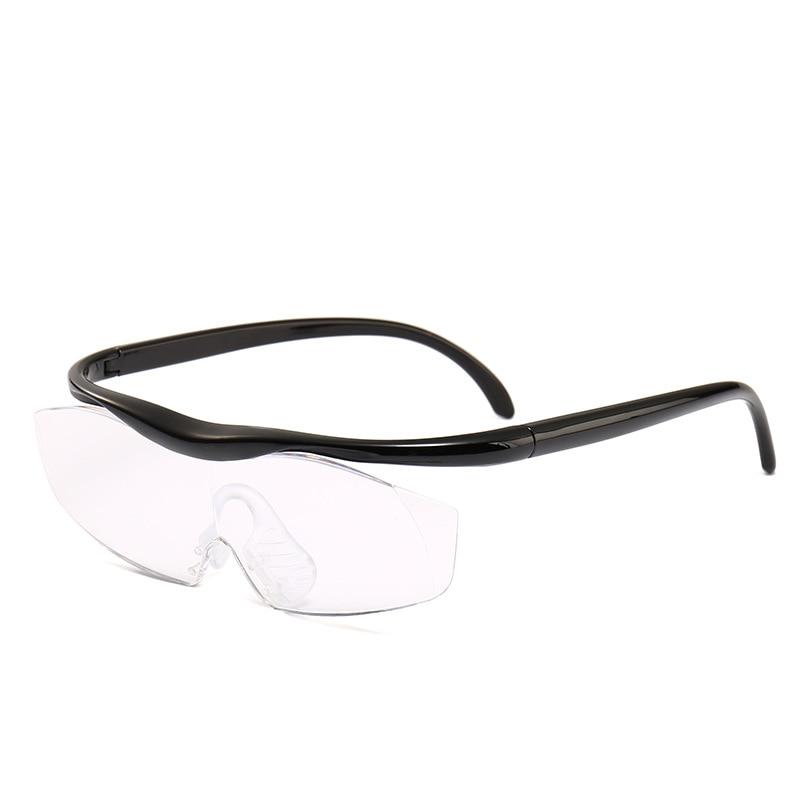 lettura 2PCS occhiali da vista unisex con ingrandimento 160/% per regalo Occhiali presbiti a LED con ingrandimento portatile