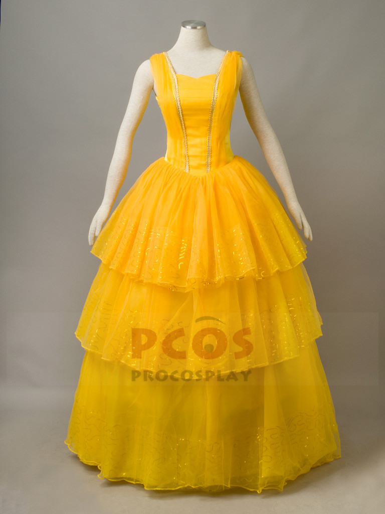 The Beauty and The Beast Belle Cosplay Dress mp003847