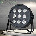20 шт./лот Par 9x12W RGBW 4IN1 DJ LED Wash Disco Light DMX контроллер