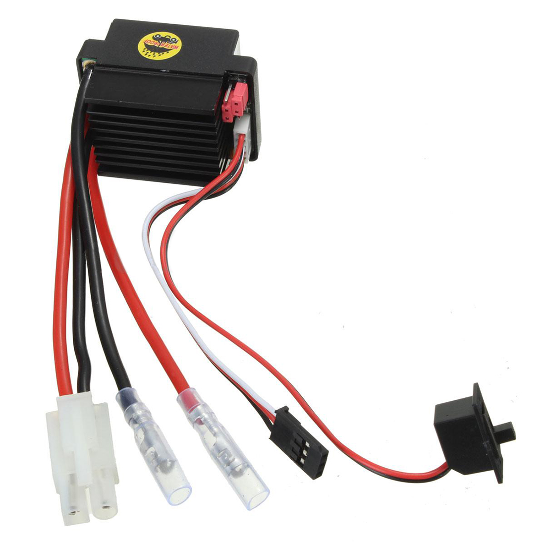 HSP 320A Brushed Brush Motor Speed Controller ESC F. 1/10 1/12 RC Truck Car Boat 1pcs 320a brushed esc speed controller w reverse for 1 8 1 10 rc flat off road monster truck truck car boat dropship