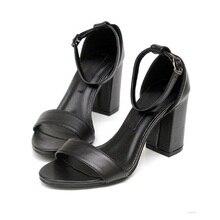 2016 marke Neue Sommer Stil frauen t-stadium Sexy High Kubanischen Heels Peep Toe Damen Promi Sandalen Pumpen Plattform Schuhe Schwarz