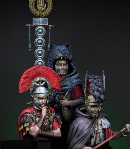 Oyuncaklar ve Hobi Ürünleri'ten Modeli Yapı Setleri'de 1/12 Ölçekli Reçine Büstü Roma Memurları'da  Grup 1
