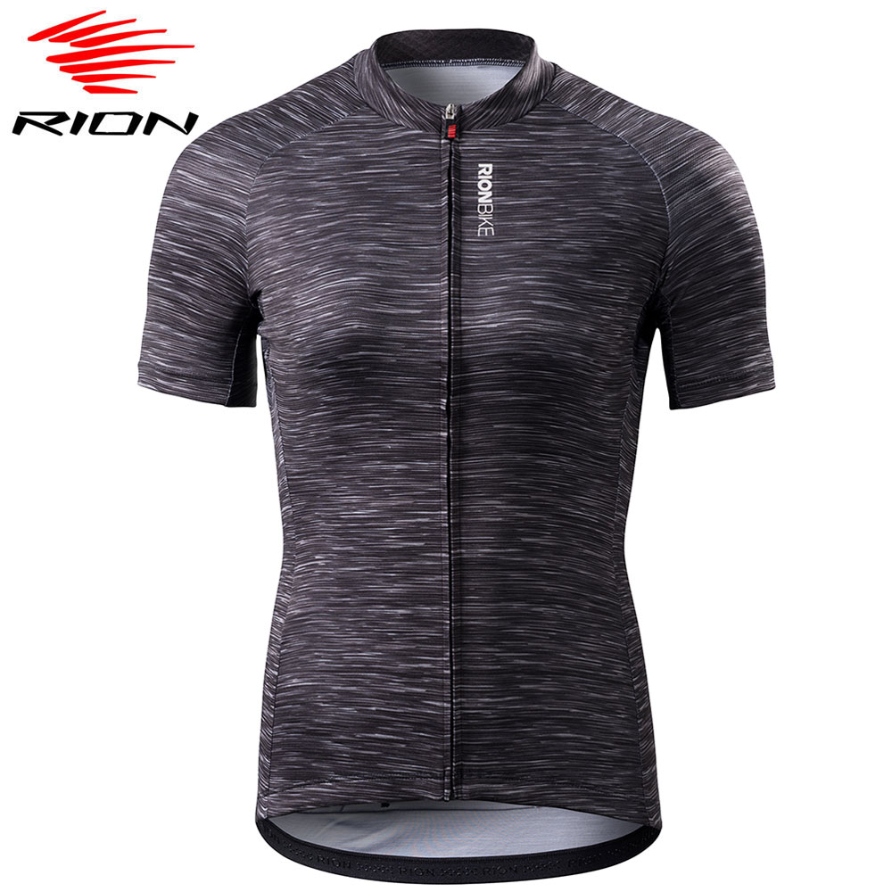 RION Women's Short Sleeve Cycling Jersey Shirt 2019 Downhill MTB Cycling Blouse Motocross Bicycle Sport Clothing Quick Dry