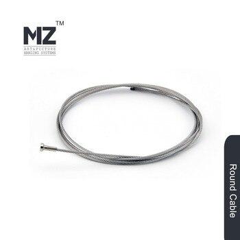 4 pcs T-end Stainless Steel Cable120cm, 10 pcs hooks