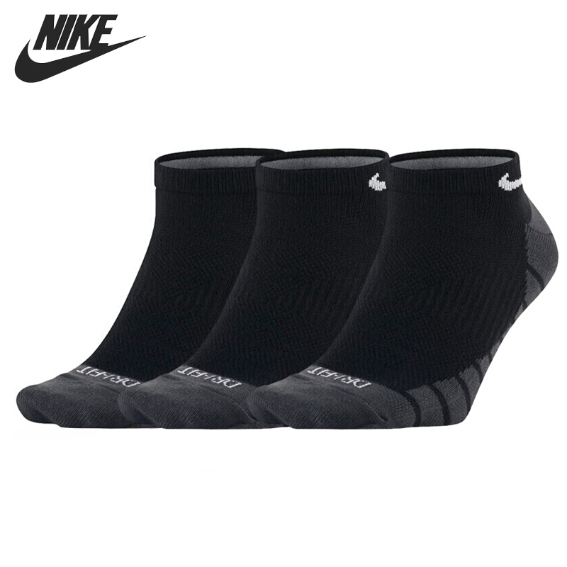 Original New Arrival  NIKE DRY LIGHTWEIGHT Unisex  Sports Socks  (3 pairs )