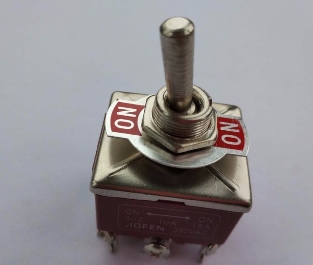 2pcs New TPST ON/ON Industrial Toggle Switches 301 302 303 triple ...