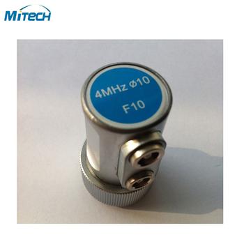 4MHz 10mm podwójny proste wiązki sondy F10 przetwornik tanie i dobre opinie 4MHz 10mm F10 MiTeCH Dual Straight Beam Probe