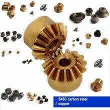1 шт. Коническая передача 0,4 м 0,5 м 0,8 м 1 м передача 90 градусов DIY медь/сталь/нержавеющая сталь