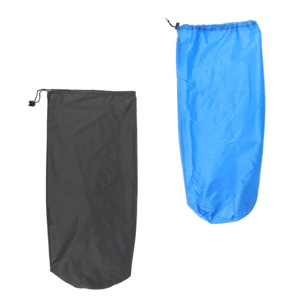 2 pièces tapis de couchage tapis de Yoga étanche à la poussière sac de rangement grand cordon sac pour Camping en plein air randonnée voyage plage