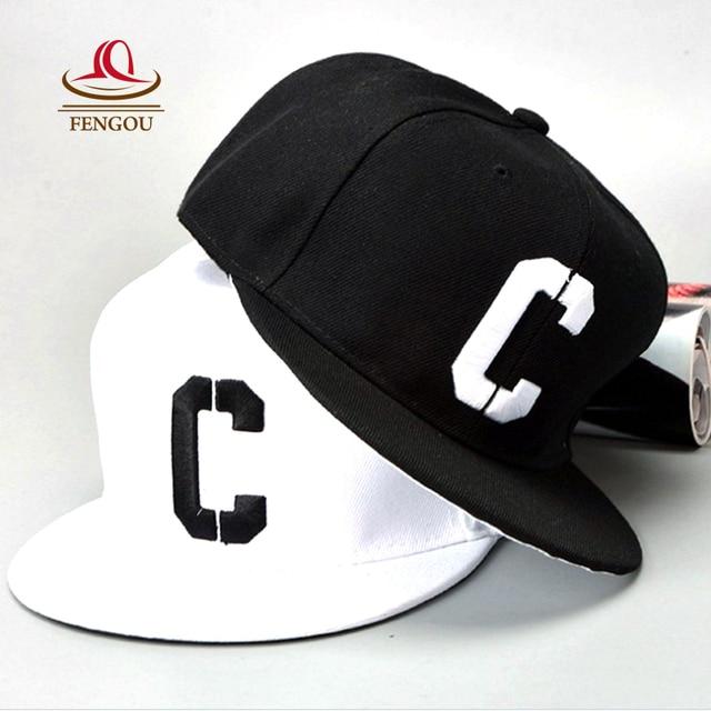 405f17f7e1c4f Vente 50% Nouvelle Lettre C Casquettes De Baseball Femmes Hommes Réglable  Hip Hop Chapeaux Casquette