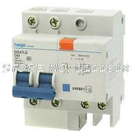 35mm DIN Rail Mounting 2P Earth Leakage Circuit Breaker AC 230V 63A