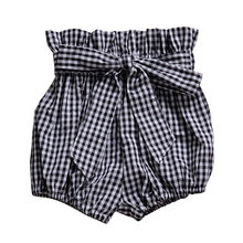 Baby Infants Summer Big Bow Short Ruffle Pants Casual Cotton PP Shorts for Kids Girls Beach Short Sports toddler bell bottoms(China)